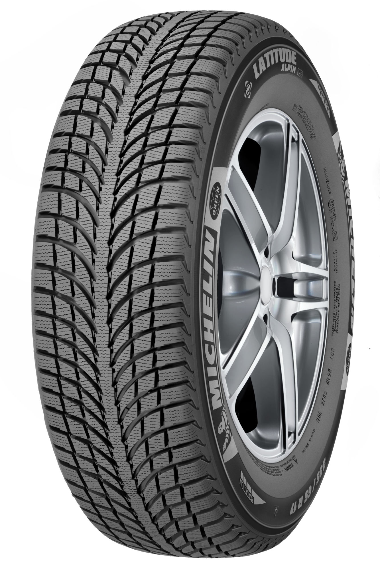 245/65 R17 111 H Latitude Alpin 2 2016  Michelin нешип