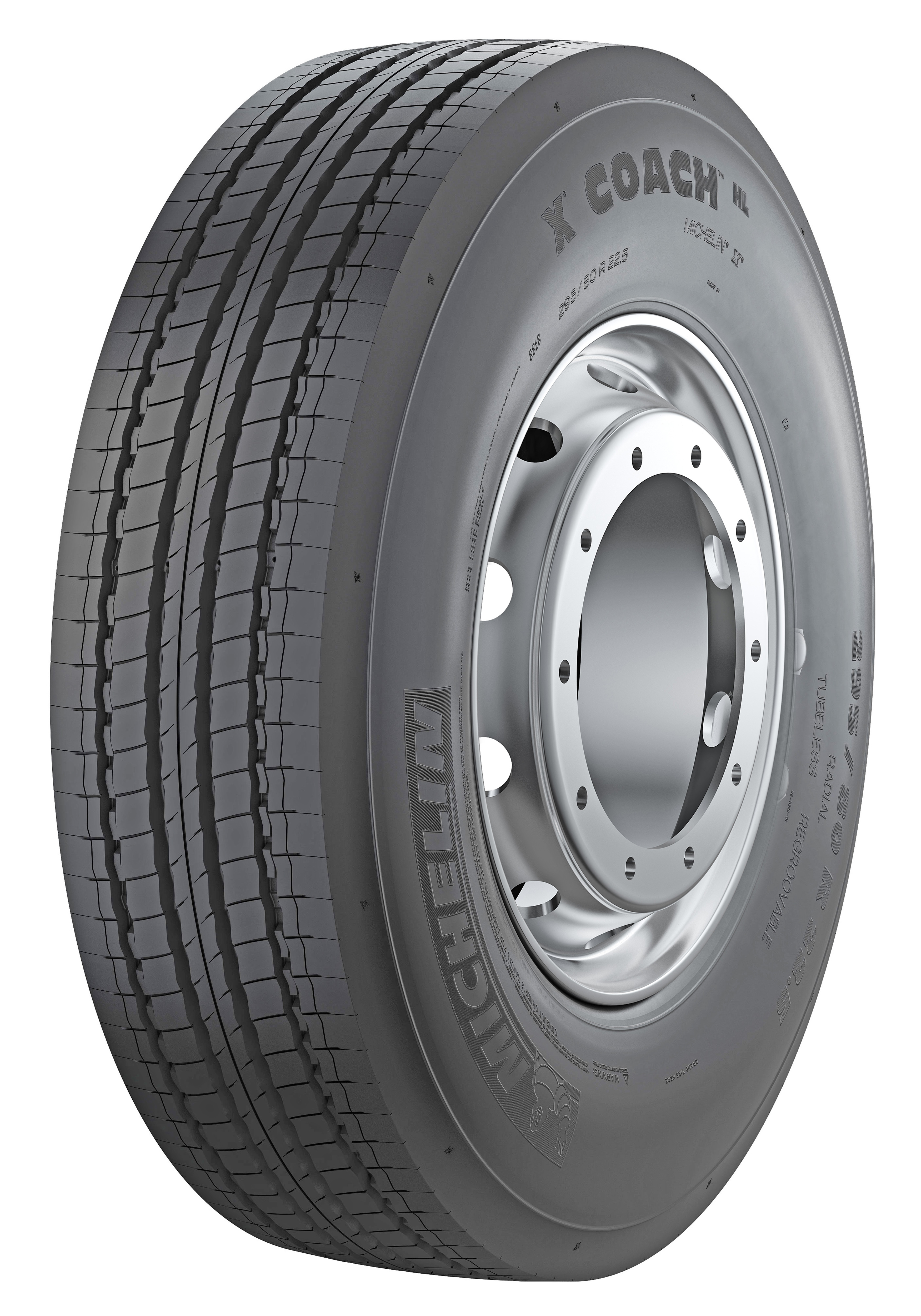 295/80 R22.5 154/150M Michelin X COACH Z